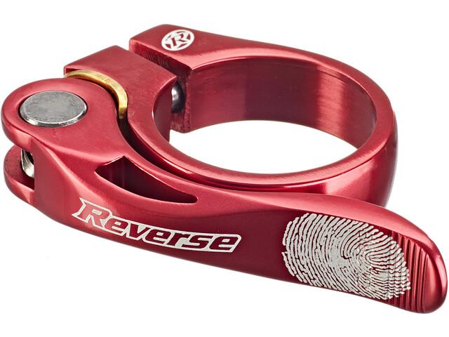 Reverse Long Life Morsetto per reggisella Ø34,9mm, rosso